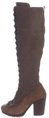 Rag & Bone Lace-Up Knee-High Boots