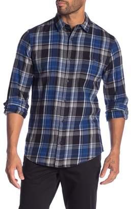 WALLIN & BROS Plaid Flannel Regular Fit Shirt