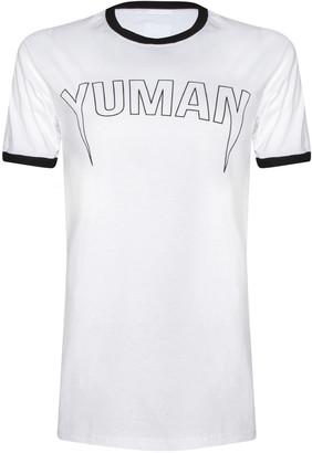 7c753c58cb Missy Empire Missyempire Annie White Yuman Ringer Slogan T Shirt