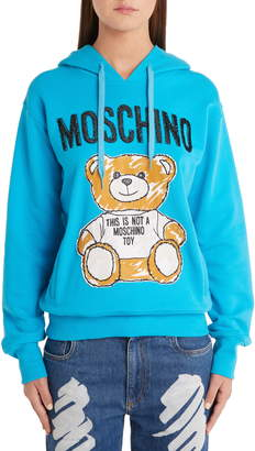 Moschino Scribble Teddy Hoodie