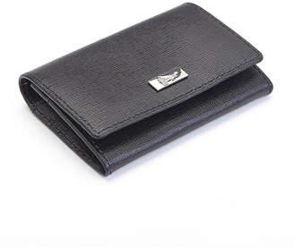 Royce Leather Royce Saffiano Gussett Card Case