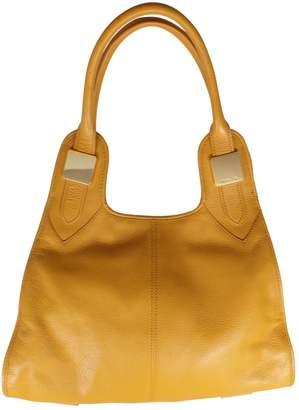 Rachel Zoe Yellow Leather Handbag