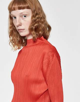 Pleats Please Issey Miyake Monthly Colors Long Sleeve Top