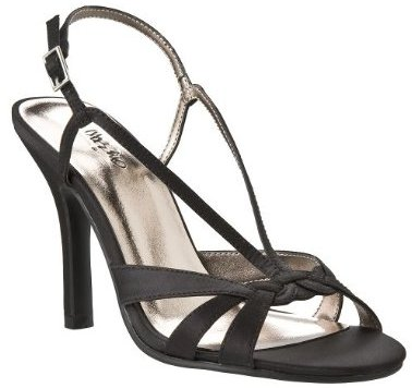 Mossimo Women's Hailey Knotted Strappy Heels - Black