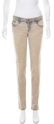 Diesel Getlegg Slim Mid-Rise Skinny Jeans