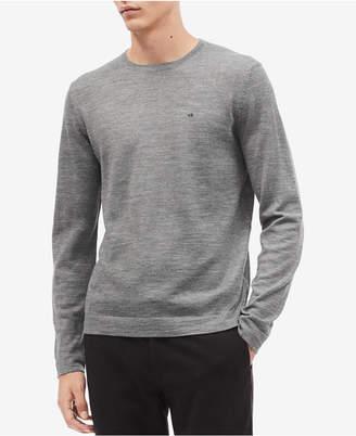 Calvin Klein Men Solid Crewneck Sweater