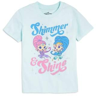 Junk Food Clothing x Nickelodeon Girls' Shimmer and Shine © Tee, Little Kid - 100% Exclusive