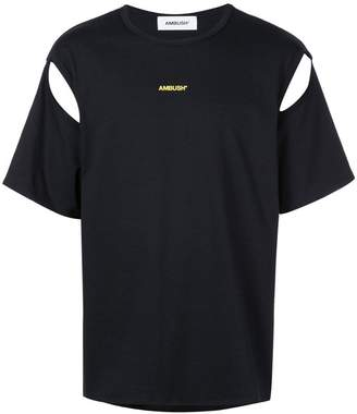 Ambush cut-out detail T-shirt