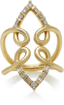 Ark Venus 18K Gold Diamond Ring