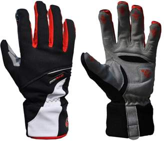 West Biking Winter Cycling Thicken Fleece Gloves Bike Bicycle Breathable Gloves Full Finger Anti-slip Wearable-L