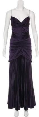 Zac Posen Sleeveless Evening Dress