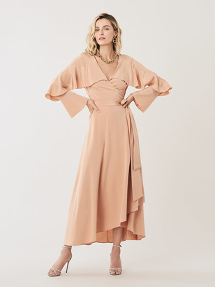Diane von Furstenberg Alice Silk High-Low Wrap Dress