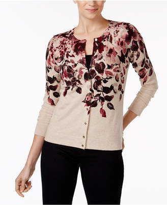Charter Club Embellished Cardigan, Created for Macy's $39.98 thestylecure.com