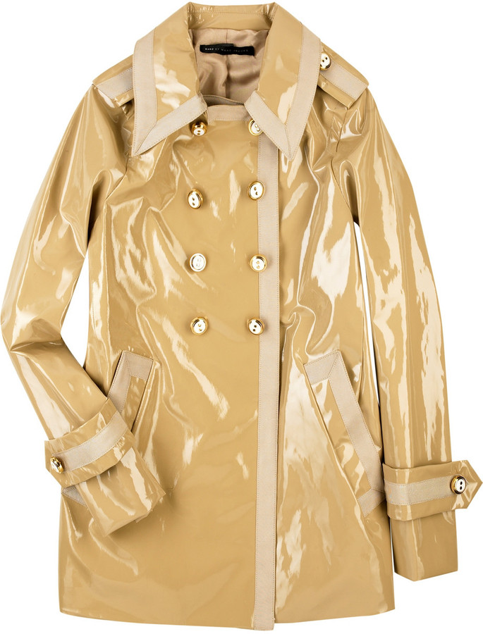 Marc by Marc Jacobs Patent trench coat