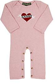 """Amber Hagen Infants' """"Daddy"""" Coverall - Pink"""