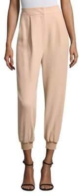 Tibi Cropped Cuffed Pants