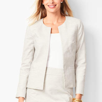 Talbots Biscay Open-Front Jacket