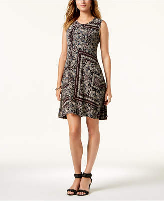 Style&Co. Style & Co Petite Printed Swing Dress