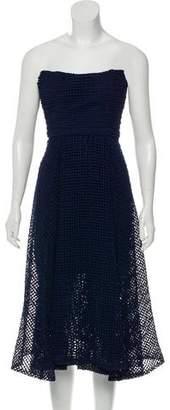 Nicholas Dot Lace Ball Knee-Length Dress w/ Tags