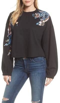 Kas Carlisle Embroidered Sweatshirt