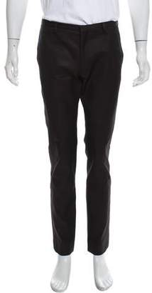 Calvin Klein Collection Embroidered Wool Pants