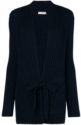 Tory Burch Lynn ribbed-knit cardigan