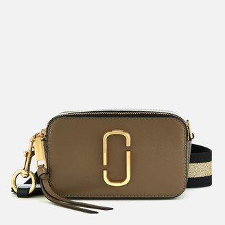 f1ffda8304 at Mybag.com · Marc Jacobs Women s Snapshot Cross Body Bag - French Grey  Multi