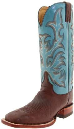 "Justin Boots Women's Aqha Lifestyle Collection 13"" Remuda Series Boot Wide Square Double Stitch Toe Leather Outsole"