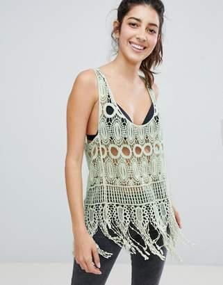 Brave Soul Crochet Tank