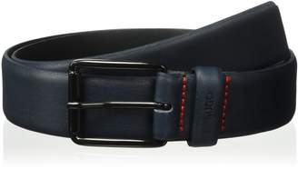 HUGO BOSS HUGO by Men's Guper Grainy Italian Leather Belt