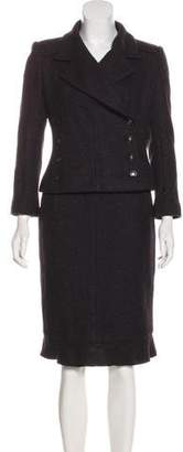 Chanel Cashmere Skirt Suit