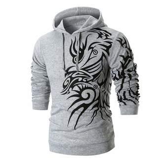 f5f451502893 Realdo Mens Solid Print Sweatshirt Clearance Sale