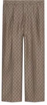 Gucci GG wool canvas formal pant