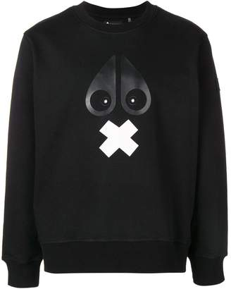 Moose Knuckles graphic print sweatshirt