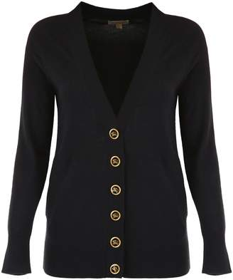 Burberry Cardigan With Decorative Buttons