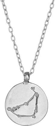 Chupi - Capricorn We Are All Made Of Stars Star Sign Necklace in Silver