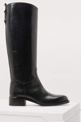 Sartore Boots with metallic detailing