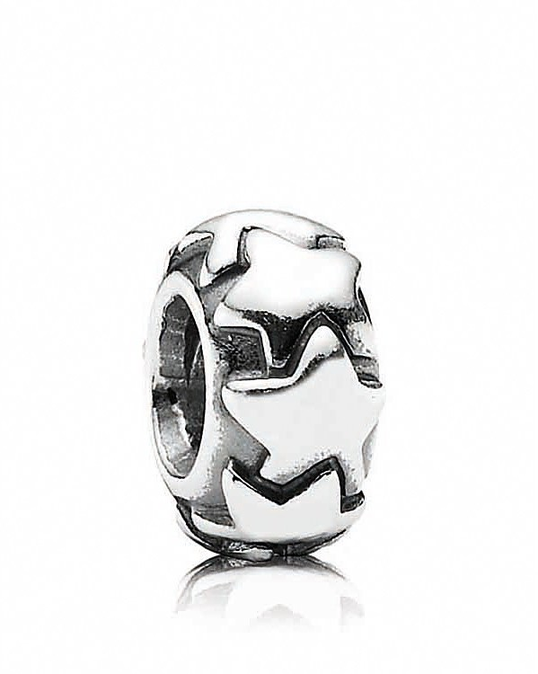 Pandora Design Spacer - Sterling Silver Shooting Star, Moments Collection