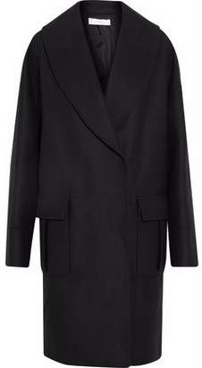 Versace Double-Breasted Wool-Blend Coat