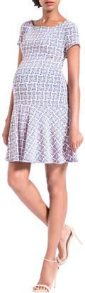 Leota Maternity Kelsey Cap Sleeve Dress