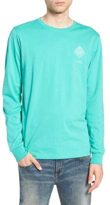 Saturdays NYC Diamond Spiral Long Sleeve T-Shirt