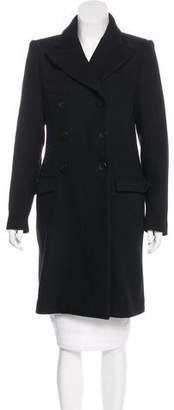 Etoile Isabel Marant Double-Breasted Knee-Length Coat