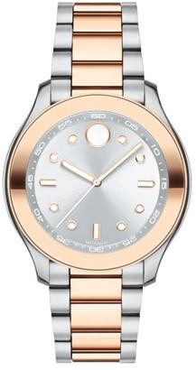 Movado Bold Two-Tone Bracelet Watch, 38Mm $550 thestylecure.com