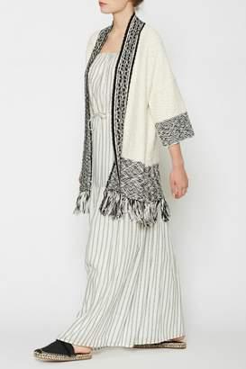 Joie Sidony Crochet Sweater
