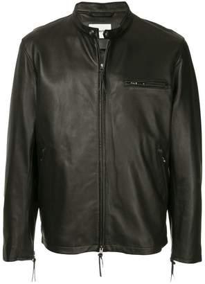 Monkey Time Flight Leather Jacket