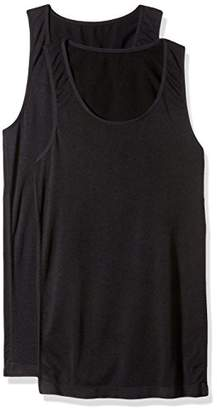 Loving Moments by Leading Lady Women's Stylish Ruched Maternity Tank with Pull Down Nursing
