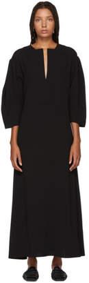 Totême Black Voluminous Avola Dress
