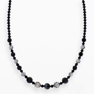 Swarovski Crystal Avenue Silver-Plated Crystal Graduated Necklace - Made with Crystals