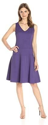 Lark & Ro Women's Sleeveless Fit and Flare Dress