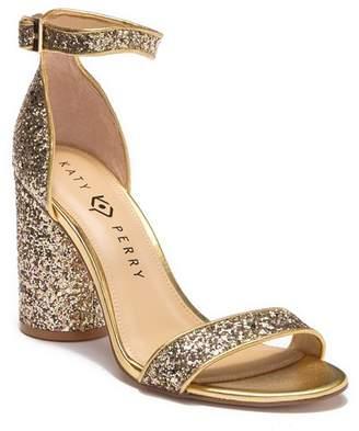 Katy Perry The Clara Chunky Glitter Block Heel Sandal